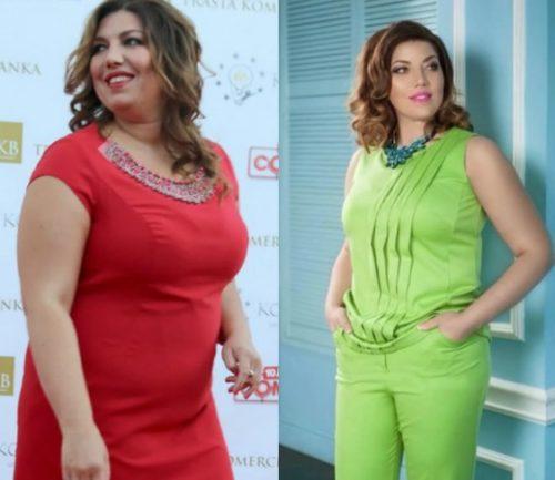 похудевшие женщины