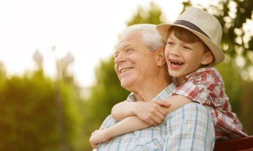 дед и внук