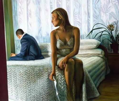 ссора молодой пары