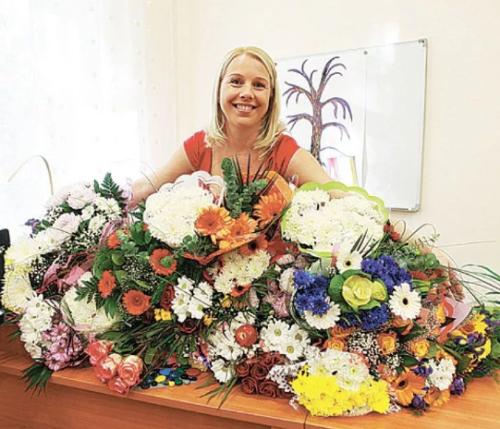 Рассказ учительницы про цветы и 1-е сентября