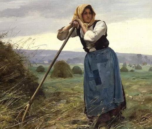 невестка в поле