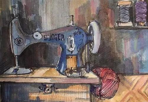 Свекровь продала старую швейную машинку…