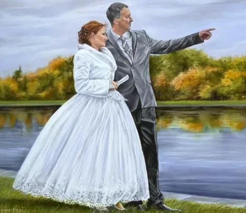 Мои три мужа... Первый брак - от бога, второй — от нечистой силы, а третий — судьба…
